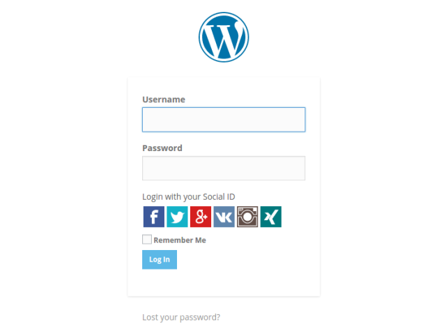 Super Socializer Social Login Bar